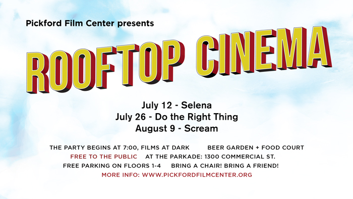 Rooftop Cinema At The Parkcade Pickford Film Center